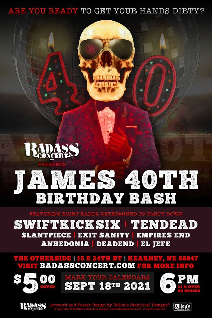 James 40th Birthday Bash
